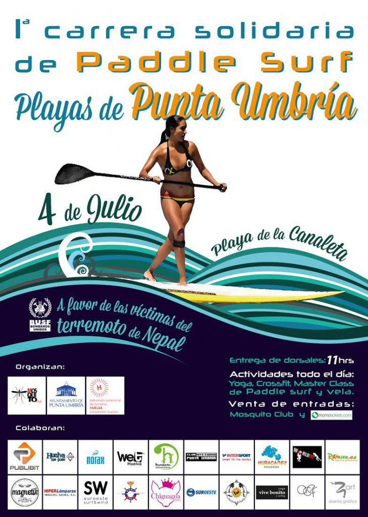 cartel-carrera-solidaria-paddle-surf-punta