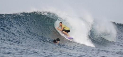 Jamie Obrien softboard en Indonesia