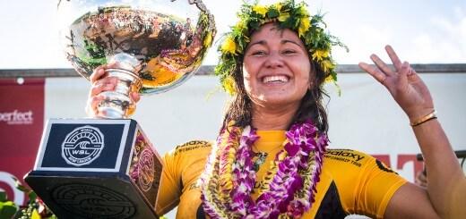 Carissa Moore campeona del mundo de surf 2015