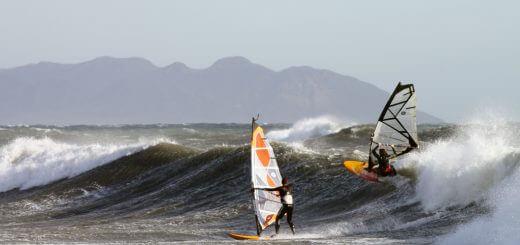 Prioridad en el windsurf